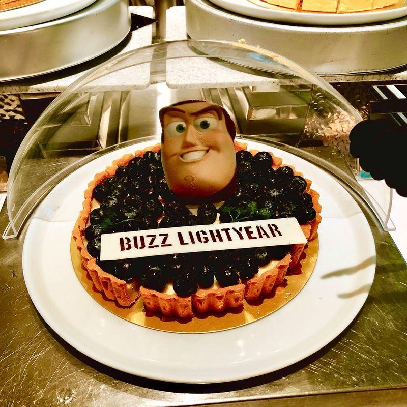 バズ・ライトイヤーのケーキ